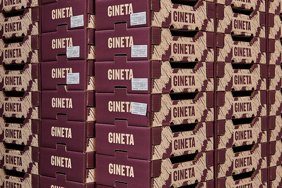 Gineta diseño packaging valencia - packaging para frutas nueve estudio