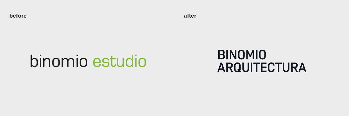 binomio before and after