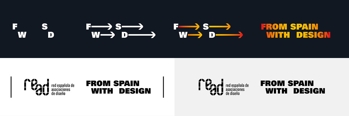 logo from spain with design nueve estudio